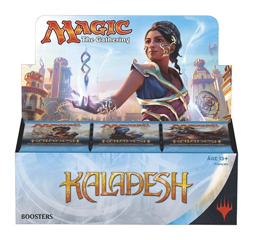 Photo du produit PACK 36 BOOSTERS MAGIC THE GATHERING KALADESH + PRESENTOIR