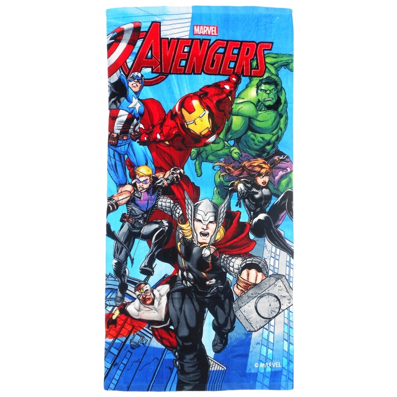 Photo du produit SERVIETTE DE PLAGE THE AVENGERS