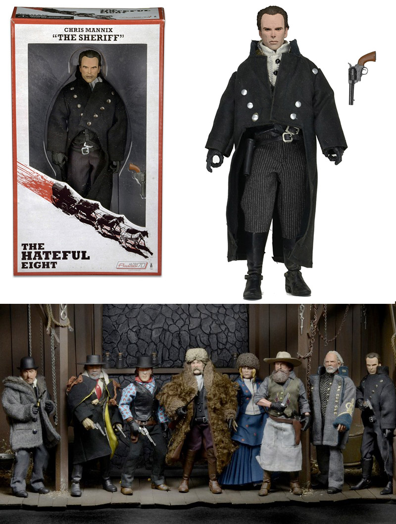 Photo du produit HATEFUL EIGHT FIGURINE RETRO STYLE SHERIFF CHRIS MANNIX