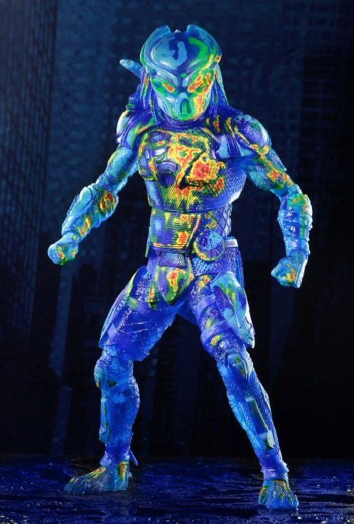 Photo du produit PREDATOR 2018 FIGURINE THERMAL VISION FUGITIVE PREDATOR 20 CM