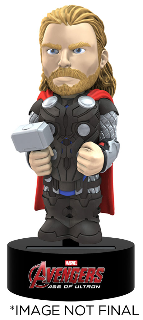 Photo du produit FIGURINE THOR AVENGERS L`ERE D`ULTRON BODY KNOCKER BOBBLE FIGURE