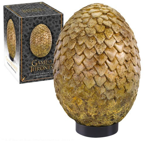 Photo du produit REPLIQUE OEUF DU DRAGON VISERION GAME OF THRONE