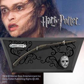Photo du produit REPLIQUE HARRY POTTER BAGUETTE DE BELLATRIX LESTRANGE