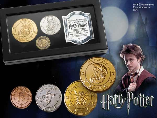 Photo du produit HARRY POTTER REPLIQUE PIECES DES GOBELINS DE GRINGOTTS
