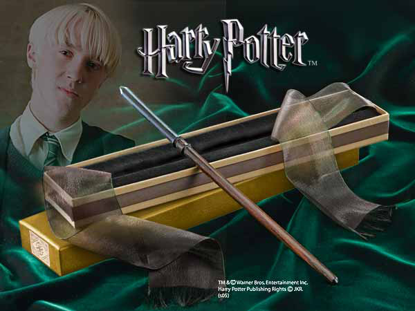 Photo du produit HARRY POTTER REPLIQUE BAGUETTE DE DRAGO MALEFOY