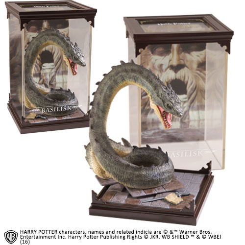 Photo du produit STATUETTE HARRY POTTER MAGICAL CREATURES BASILISK