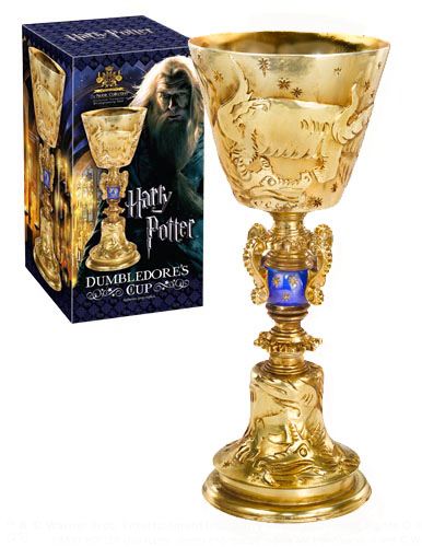 Photo du produit RÉPLIQUE LA COUPE DE DUMBLEDORE DE HARRY POTTER