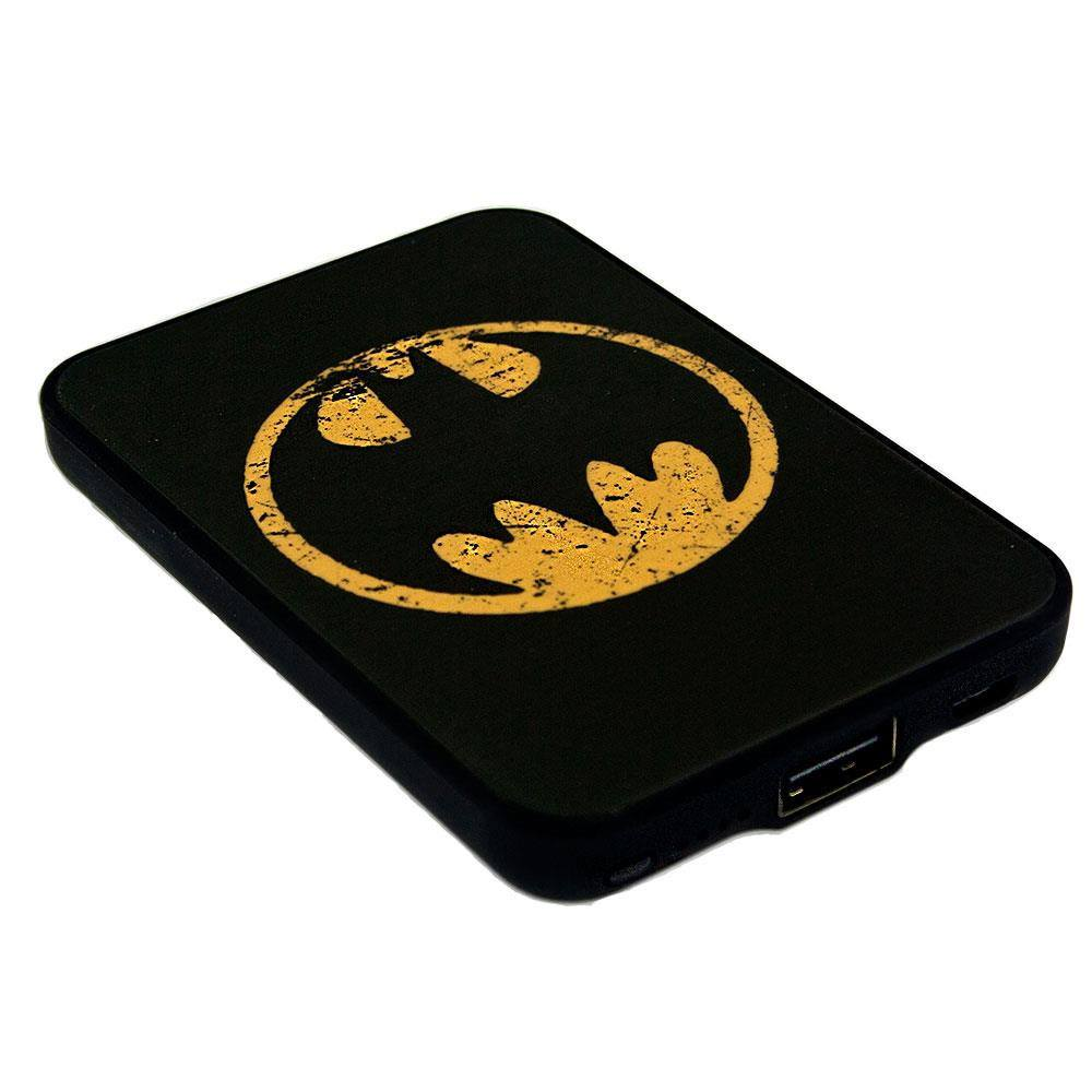 Photo du produit CHARGEUR DE BATTERIE BATMAN CREDIT CARD SIZED POWER BANK 5000 MAH LOGO