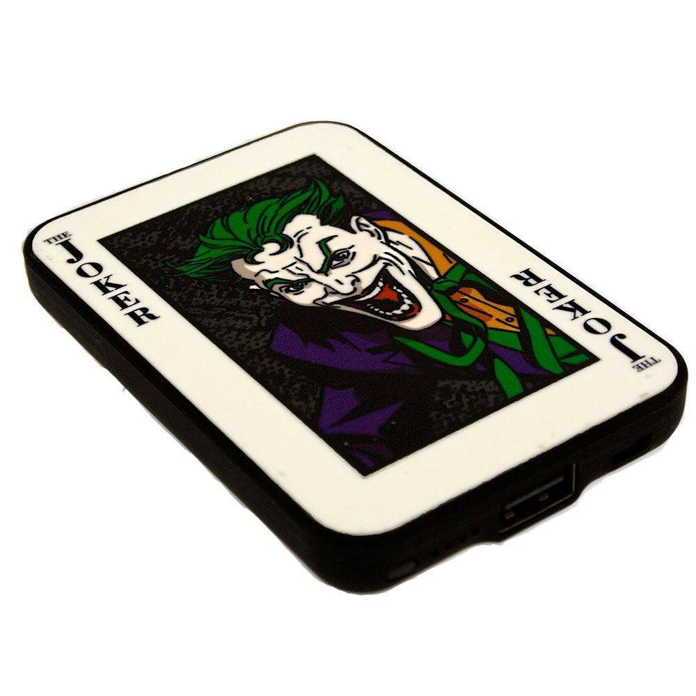Photo du produit CHARGEUR DE BATTERIE BATMAN CREDIT CARD SIZED POWER BANK 5000 MAH THE JOKER