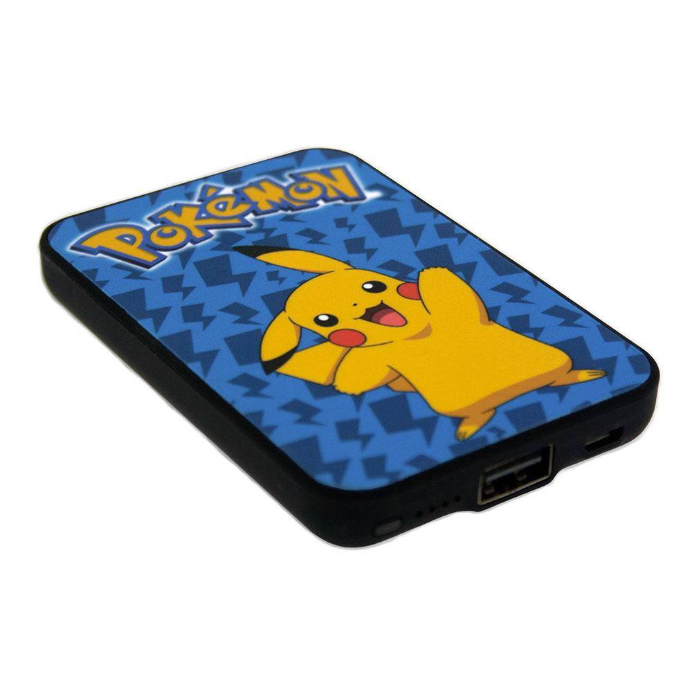 Photo du produit CHARGEUR DE BATTERIE POKEMON CREDIT CARD SIZED POWER BANK 5000 MAH PIKACHU
