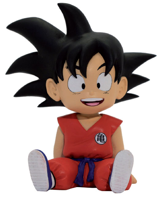 Photo du produit DRAGONBALL TIRELIRE PVC SON GOKU 14 CM