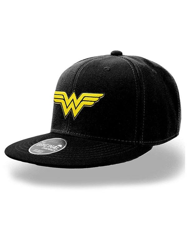 Photo du produit DC COMICS CASQUETTE HIP HOP WONDER WOMAN LOGO