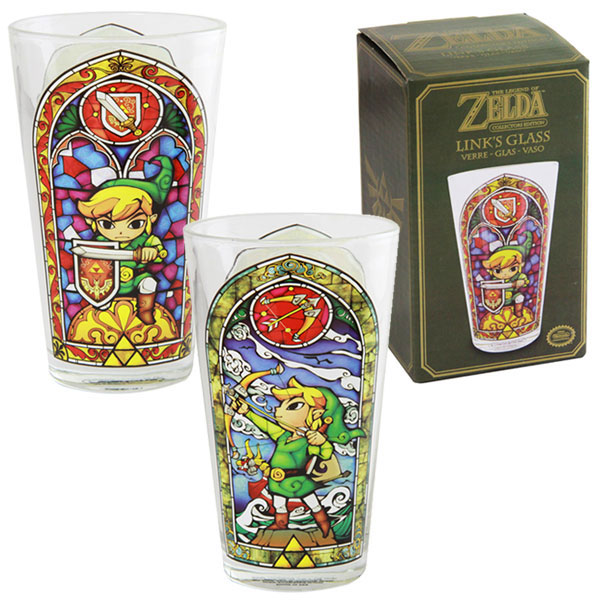 Photo du produit LEGEND OF ZELDA WIND WAKER VERRE LINK