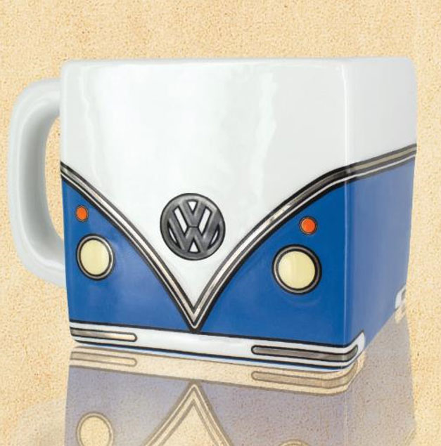 Photo du produit VOLKSWAGEN MUG SHAPED CAMPERVAN 13 CM
