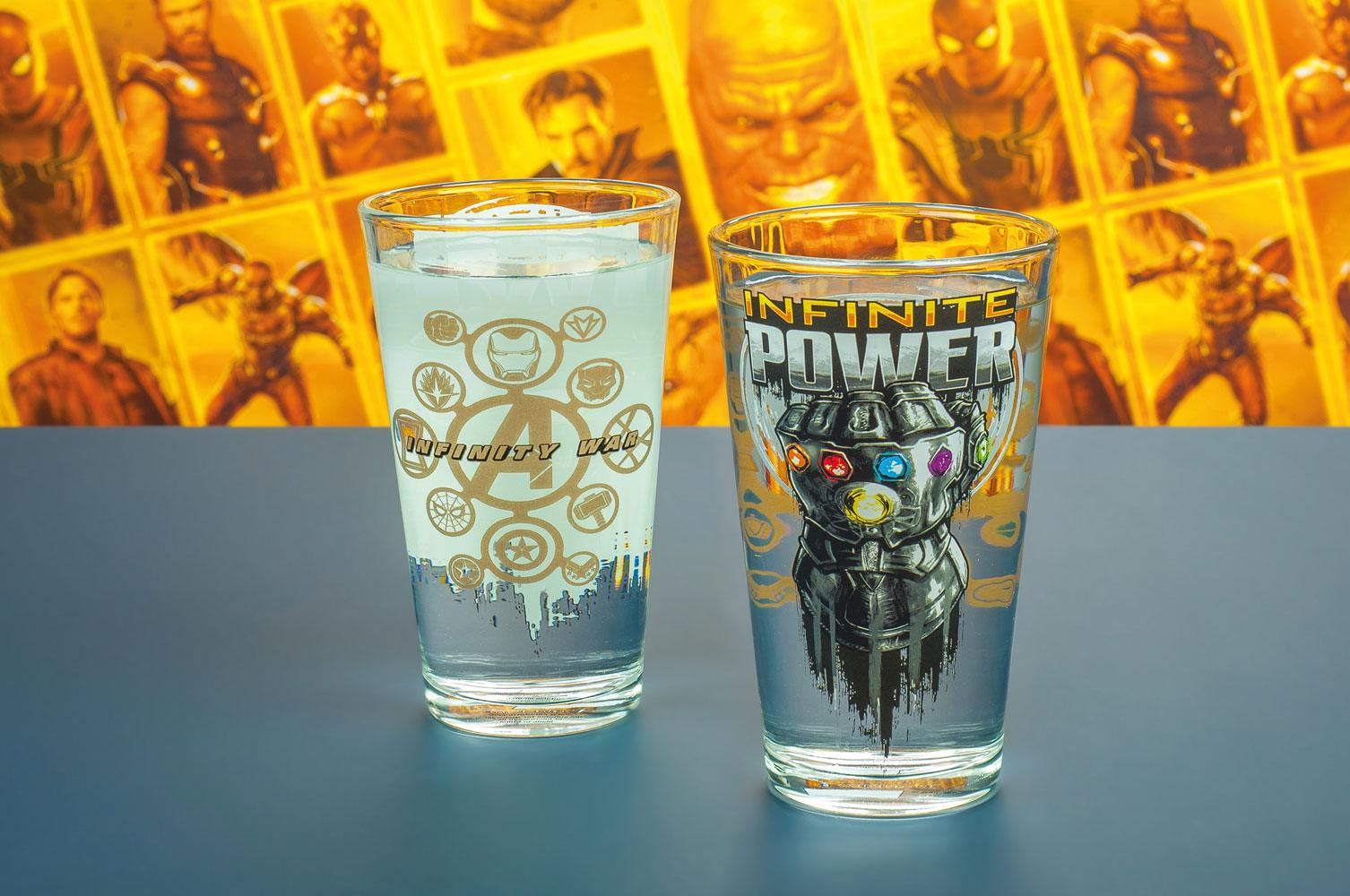 Photo du produit AVENGERS INFINITY WAR VERRE CHANGEANT DE COULEUR INFINITE POWER