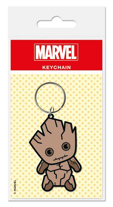 Photo du produit MARVEL COMICS PORTE CLE CAOUTCHOUC KAWAII GROOT 6 CM