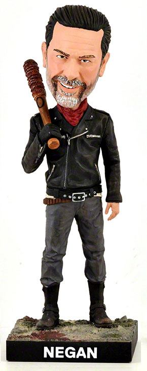 Photo du produit FIGURINE ROYAL BOBBLES WALKING DEAD BOBBLE HEAD NEGAN 20 CM