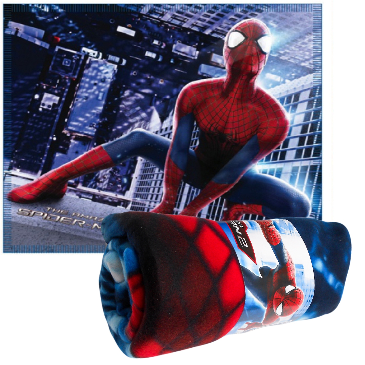 Photo du produit Plaid Spiderman Marvel