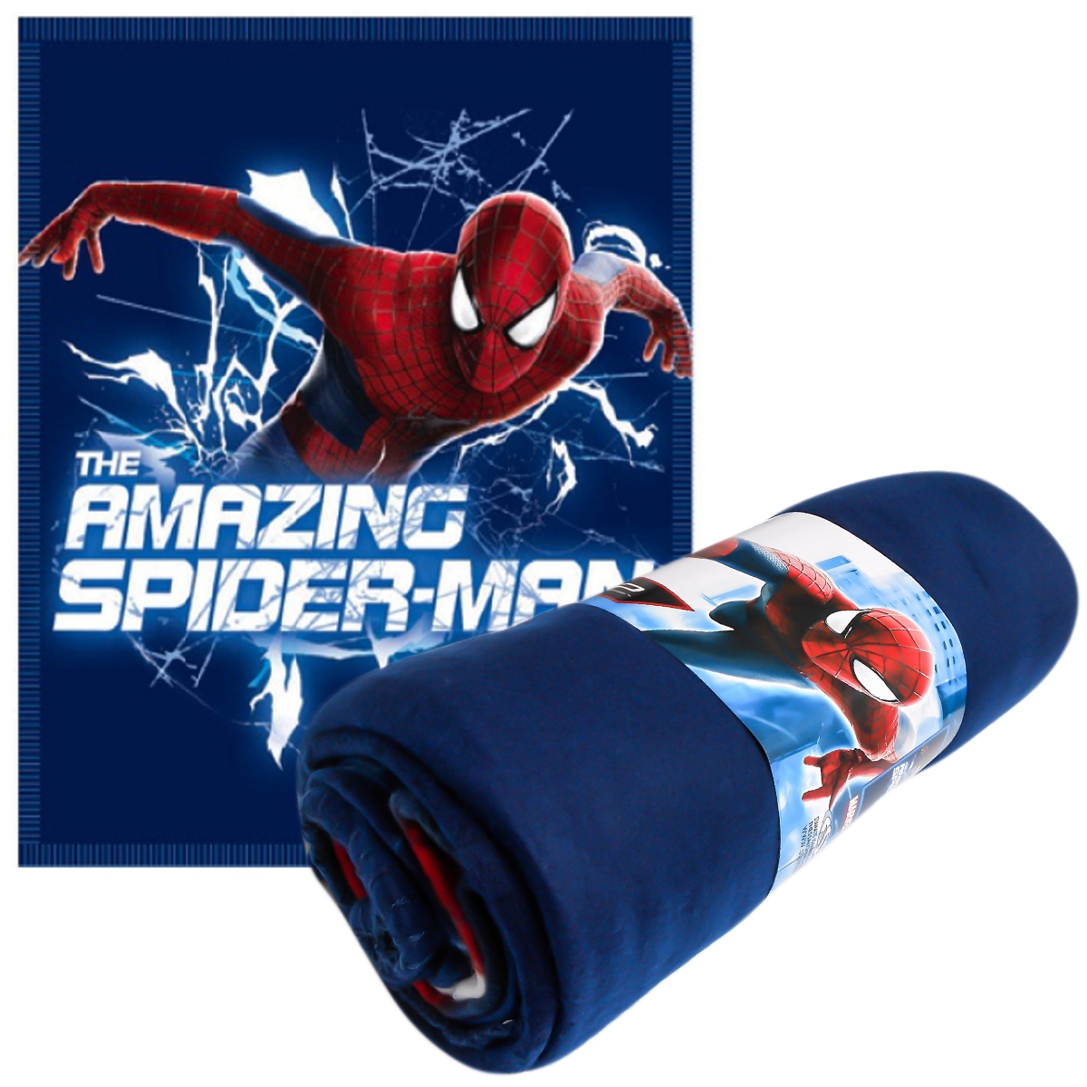 Photo du produit Couverture polaire Amazing Spiderman