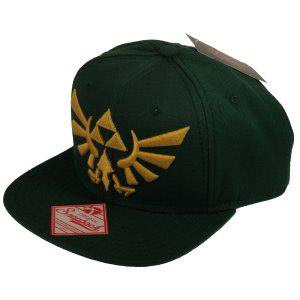 Photo du produit THE LEGEND OF ZELDA CASQUETTE HIP HOP SNAP BACK EMBROIDED GOLD LOGO