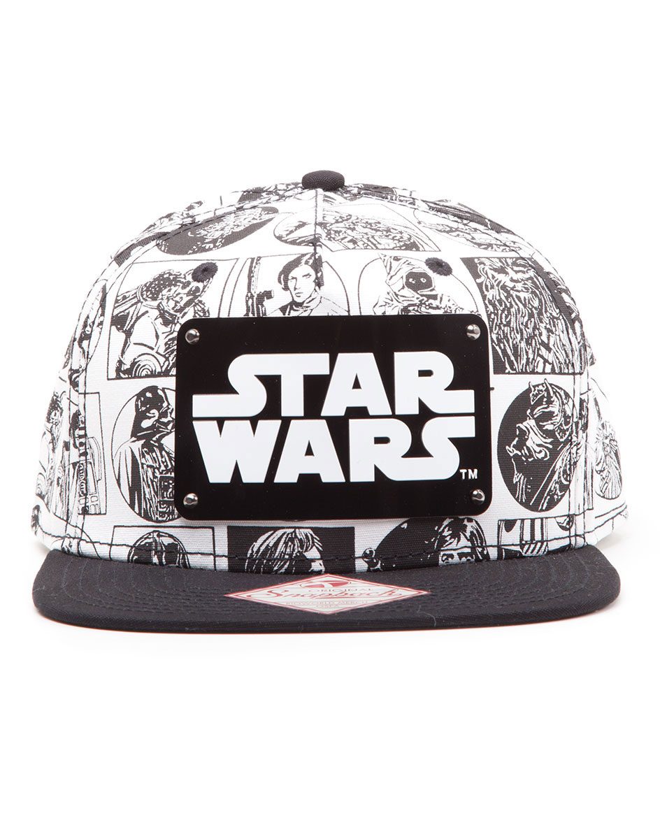 Photo du produit STAR WARS CASQUETTE HIP HOP SNAP BACK COMIC STYLE
