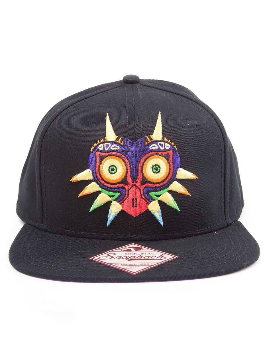 Photo du produit CASQUETTE HIP HOP THE LEGEND OF ZELDA MAJORA'S MASK