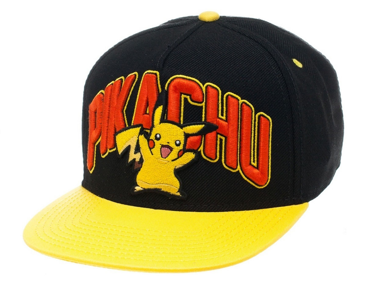 Photo du produit POKEMON CASQUETTE HIP HOP SNAP BACK PIKACHU