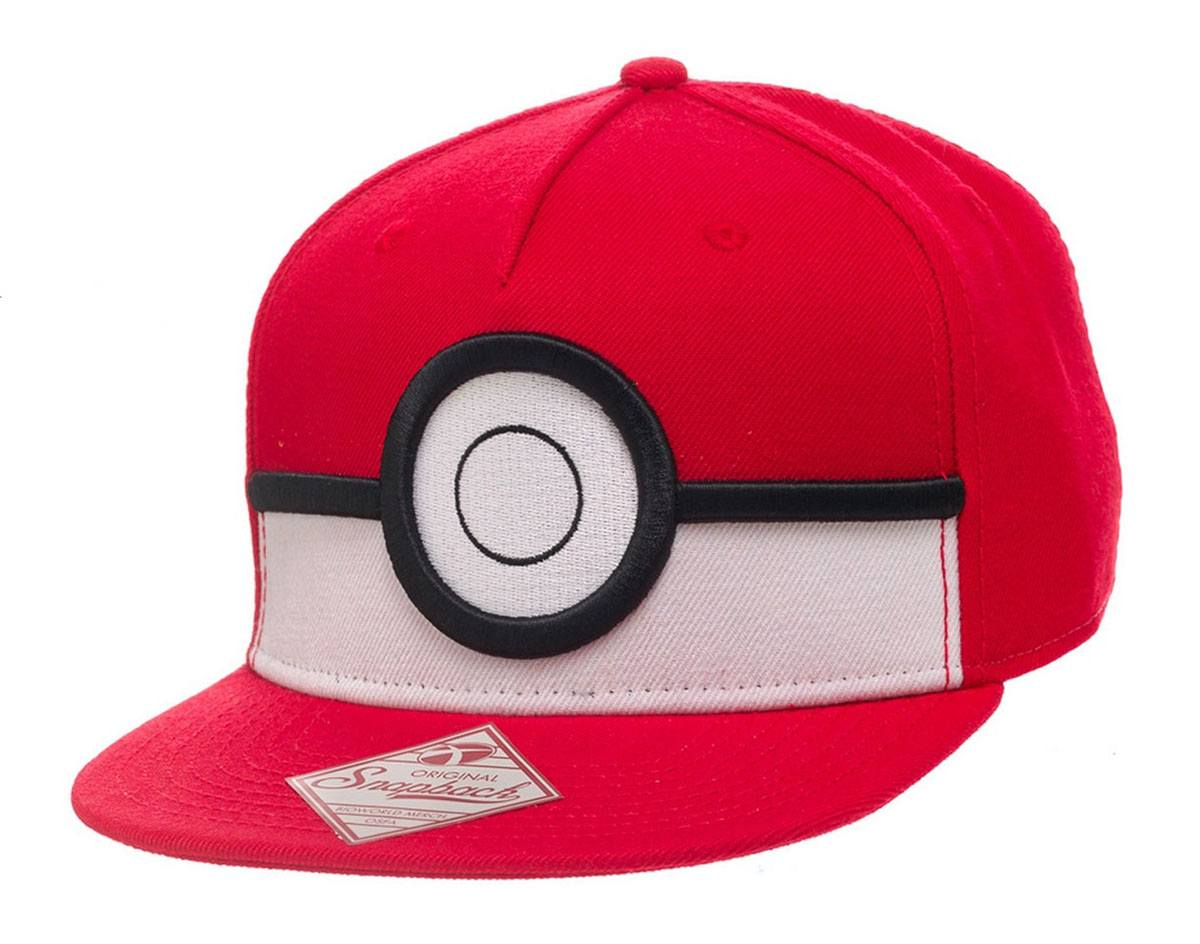 Photo du produit CASQUETTE HIP HOP POKEMON SNAP BACK 3D POKE BALL