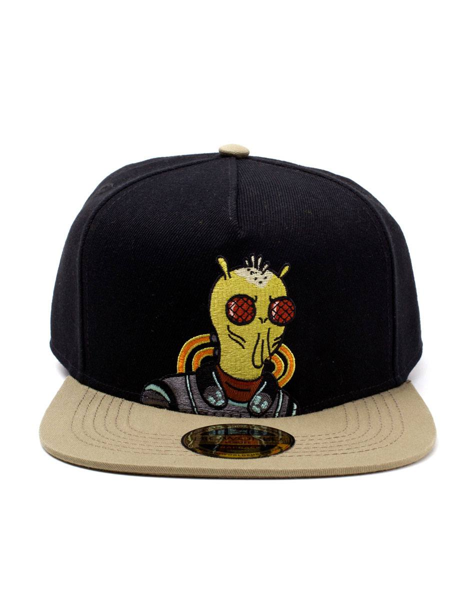 Photo du produit RICK ET MORTY CASQUETTE HIP HOP SNAPBACK KROMBOPULOS MICHAEL