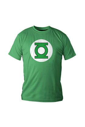 Photo du produit DC UNIVERSE T-SHIRT LOGO GREEN LANTERN