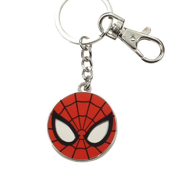 Photo du produit MARVEL PORTE CLE METAL SPIDER MAN LOGO