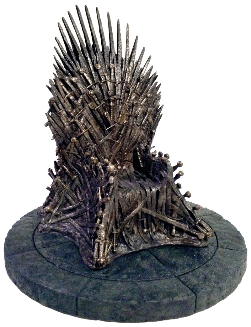 Photo du produit GAME OF THRONES RÉPLIQUE TRÔNE DE FER 18CM