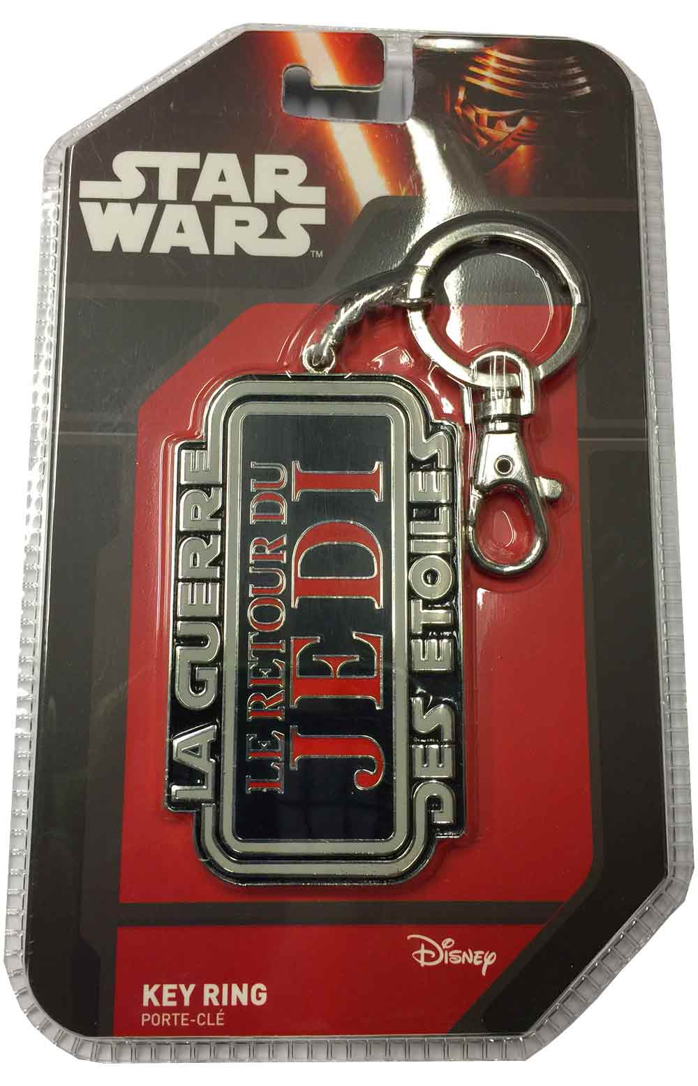 Photo du produit PORTE CLE METAL STAR WARS LOGO RETOUR DU JEDI