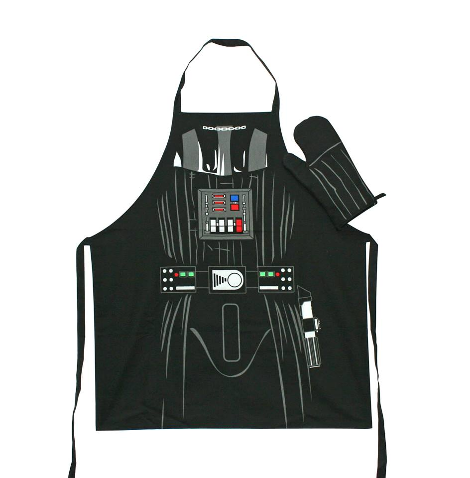 Photo du produit STAR WARS SET TABLIER & GANT DE CUISINE DARTH VADER