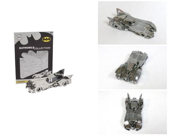 Photo du produit BATMAN 3D METAL PUZZLE BATMOBILE 1989