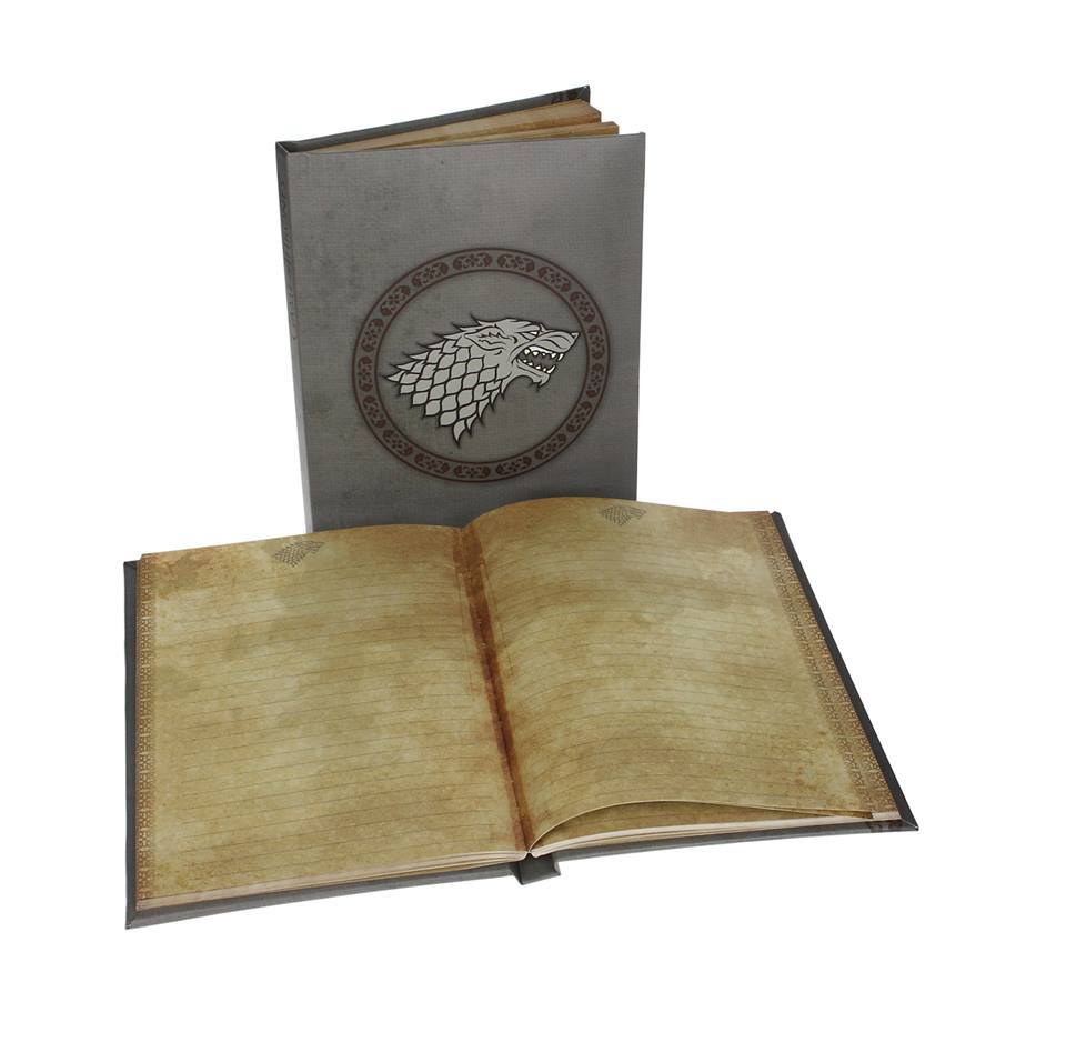 Photo du produit GAME OF THRONES NOTEBOOK LUMINEUX STARK
