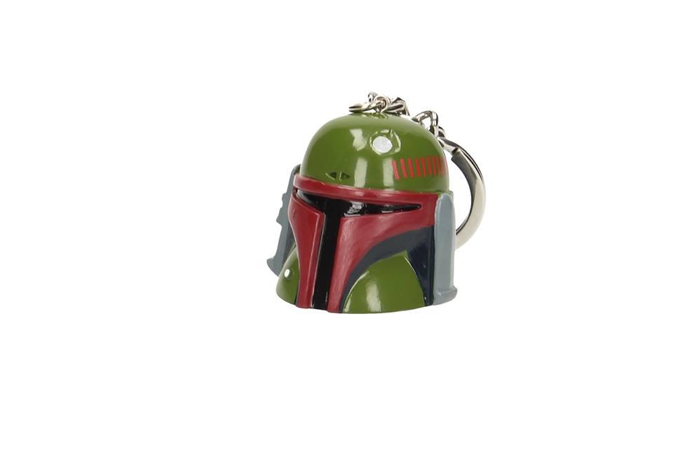 Photo du produit Star Wars Porte clé 3D Casque Boba Fett