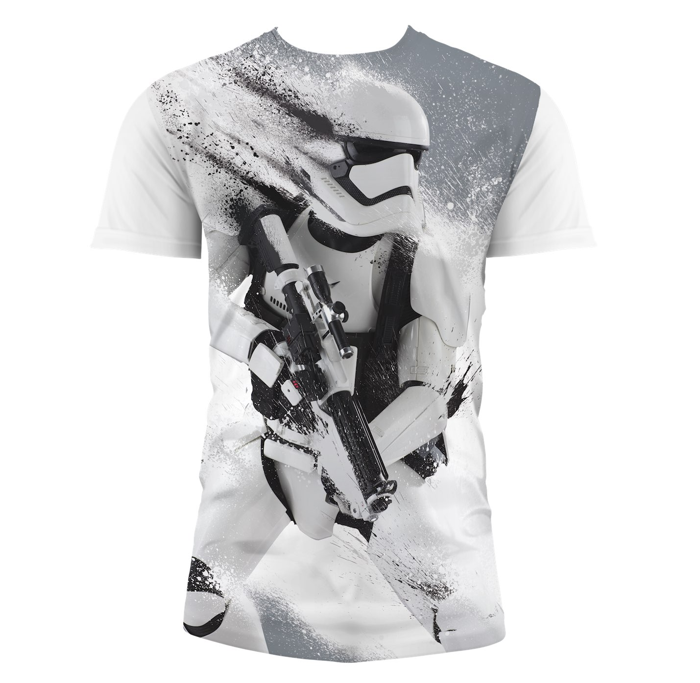 Photo du produit T-SHIRT HOMME STAR WARS EPISODE 7 STORMTROOPER SNOW