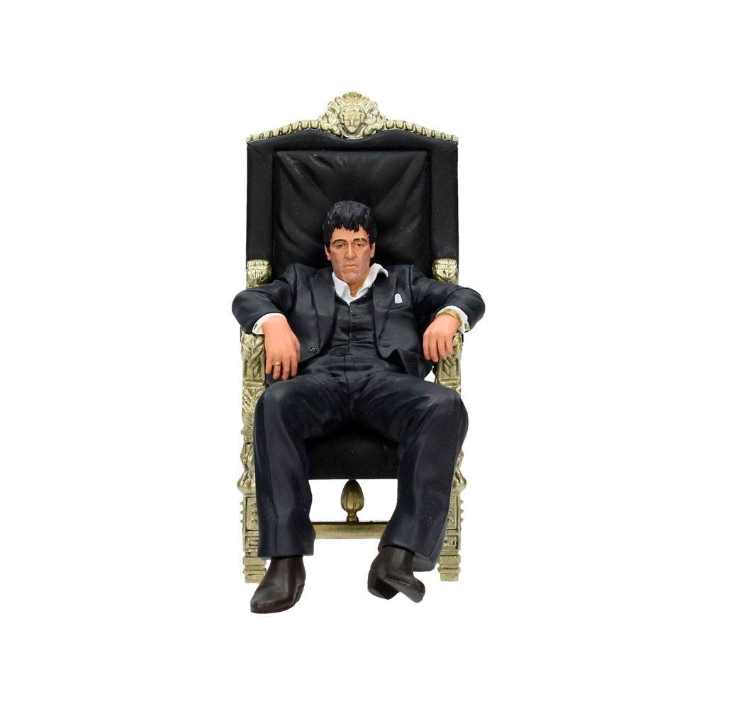 Photo du produit SCARFACE STATUETTE PVC MOVIE ICONS TONY MONTANA 18 CM