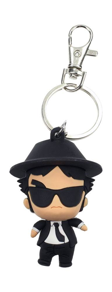 Photo du produit BLUES BROTHERS PORTE-CLÉS CAOUTCHOUC POKIS JAKE 6 CM