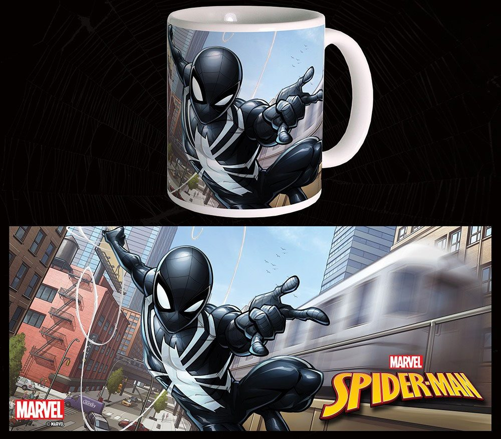 Photo du produit MUG MARVEL COMICS BLACK SUIT SPIDER-MAN