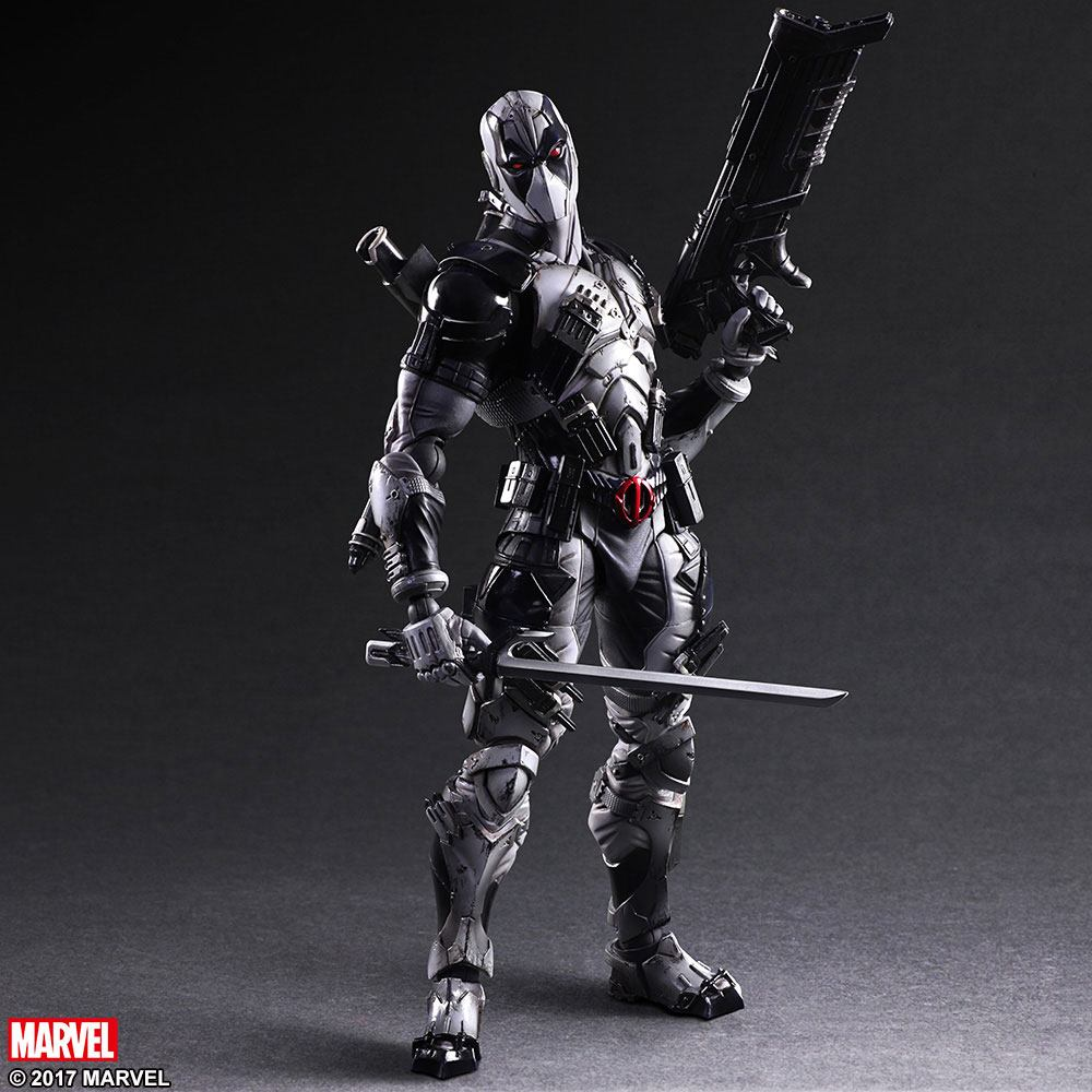 Photo du produit MARVEL COMICS VARIANT PLAY ARTS KAI FIGURINE DEADPOOL X-FORCE VER. 27 CM