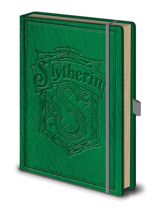 Photo du produit HARRY POTTER CARNET DE NOTES PREMIUM A5 SLYTHERIN