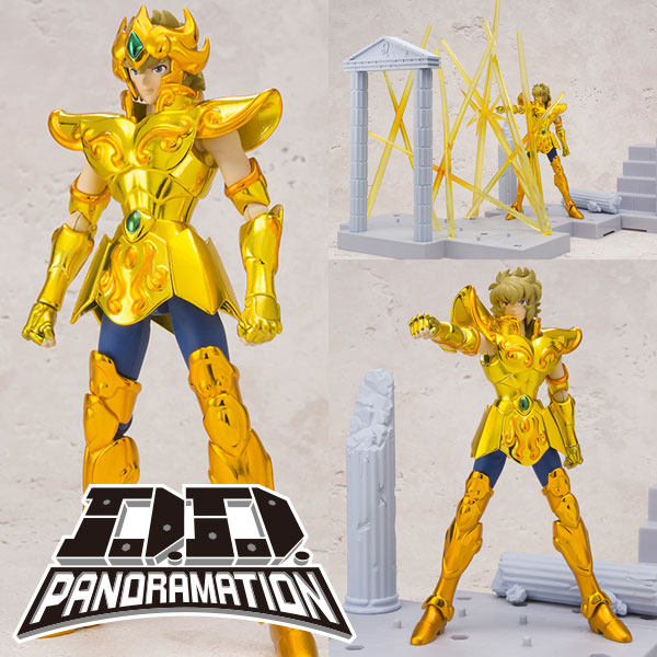 Photo du produit FIGURINE SAINT SEIYA DD PANORAMATION AIOLIA LEO 10CM