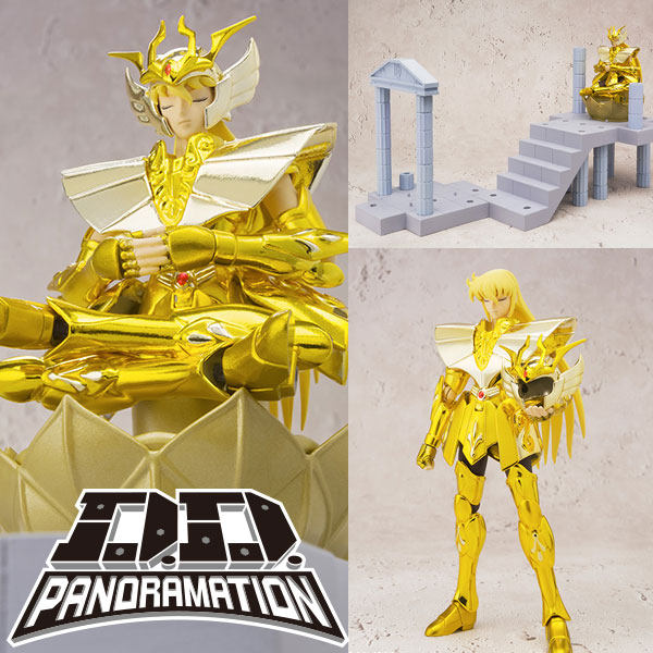 Photo du produit FIGURINE BANDAI SAINT SEIYA DD PANORAMATION SHAKA VIRGO