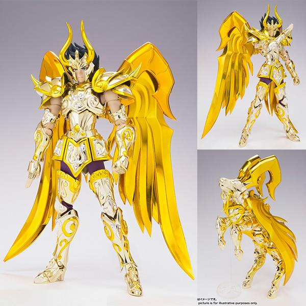 Photo du produit SAINT SEIYA MYTH CLOTH EX SOUL OF GOLD CAPRICORN SHURA