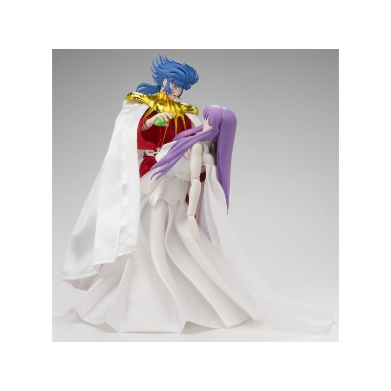 Photo du produit SAINT SEIYA MYTH CLOTH ABEL THE GOD OF SUN & ATHENA GODDESS SET