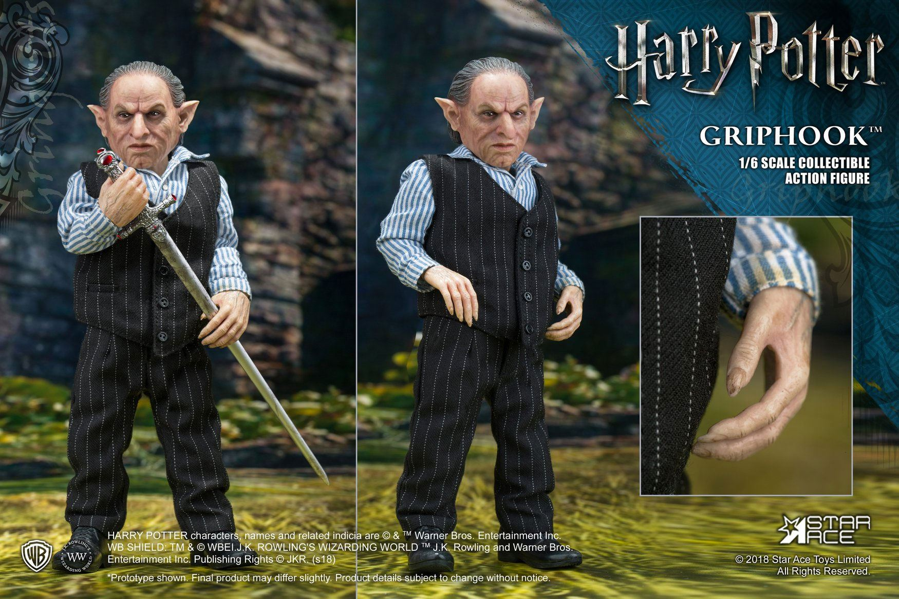 Photo du produit FIGURINE HARRY POTTER MY FAVOURITE MOVIE 1/6 GRIPHOOK (BANKER) 20 CM