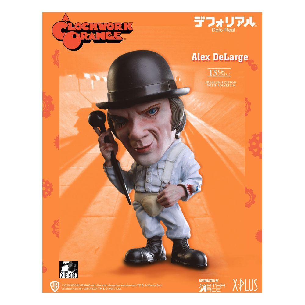 Photo du produit Orange mécanique statuette Defo-Real Series Alex DeLarge 15 cm