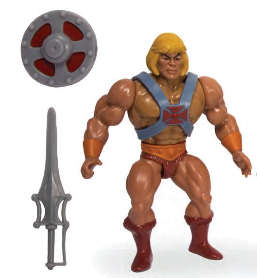 Photo du produit MASTERS OF THE UNIVERSE VINTAGE COLLECTION FIGURINE HE-MAN 14 CM